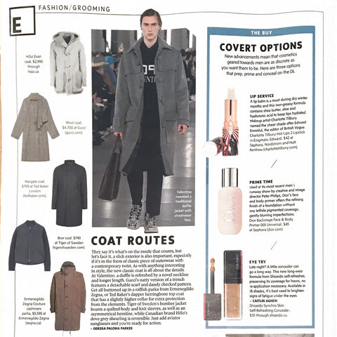 HISO featured The Globe and Mail Style Advisor