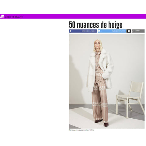 HISO featured Online - Le Journal De Montreal