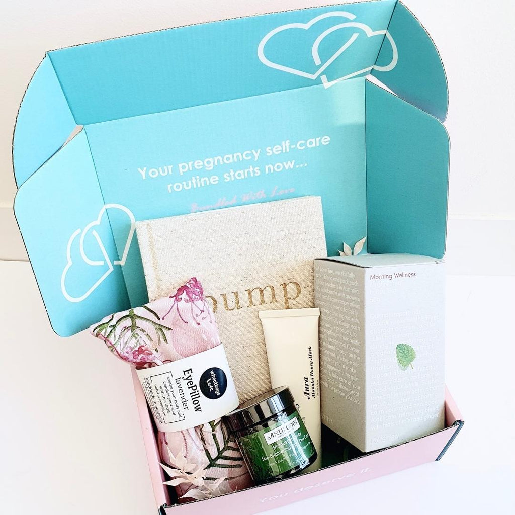 Bump journal box - pregnancy gift box - boxfortwo