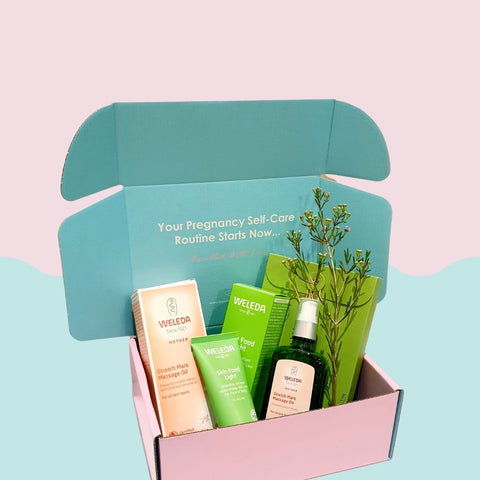 the facial glow box - pregnancy gift box
