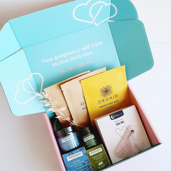 Facial Glow Box - Pregnancy Pamper box - Boxfortwo