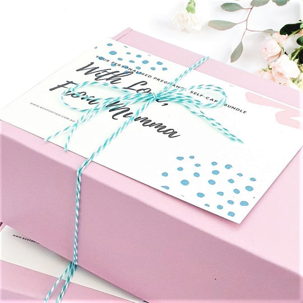 pregnancy gift box - the monthly box - boxfortwo