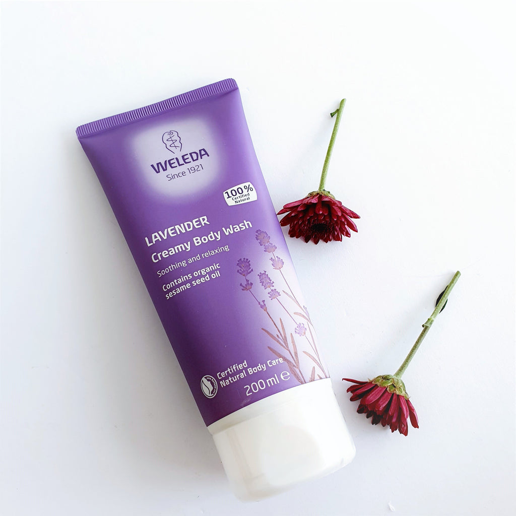 Weleda Lavender Creamy Body Wash - Box for Two
