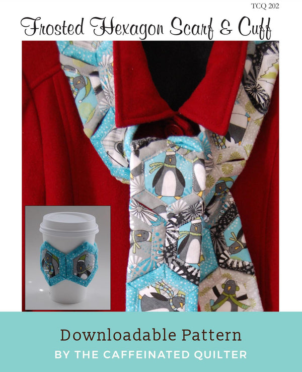 Frosted Hexagon Scarf and Cuff Download