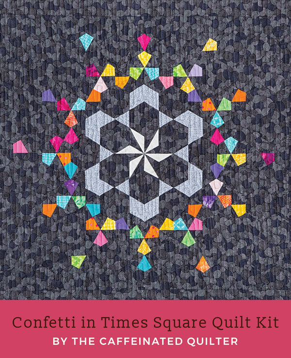 Confetti in Times Square Quilt Kit