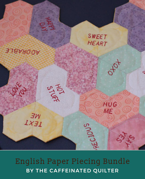 English Paper Piecing Bundle