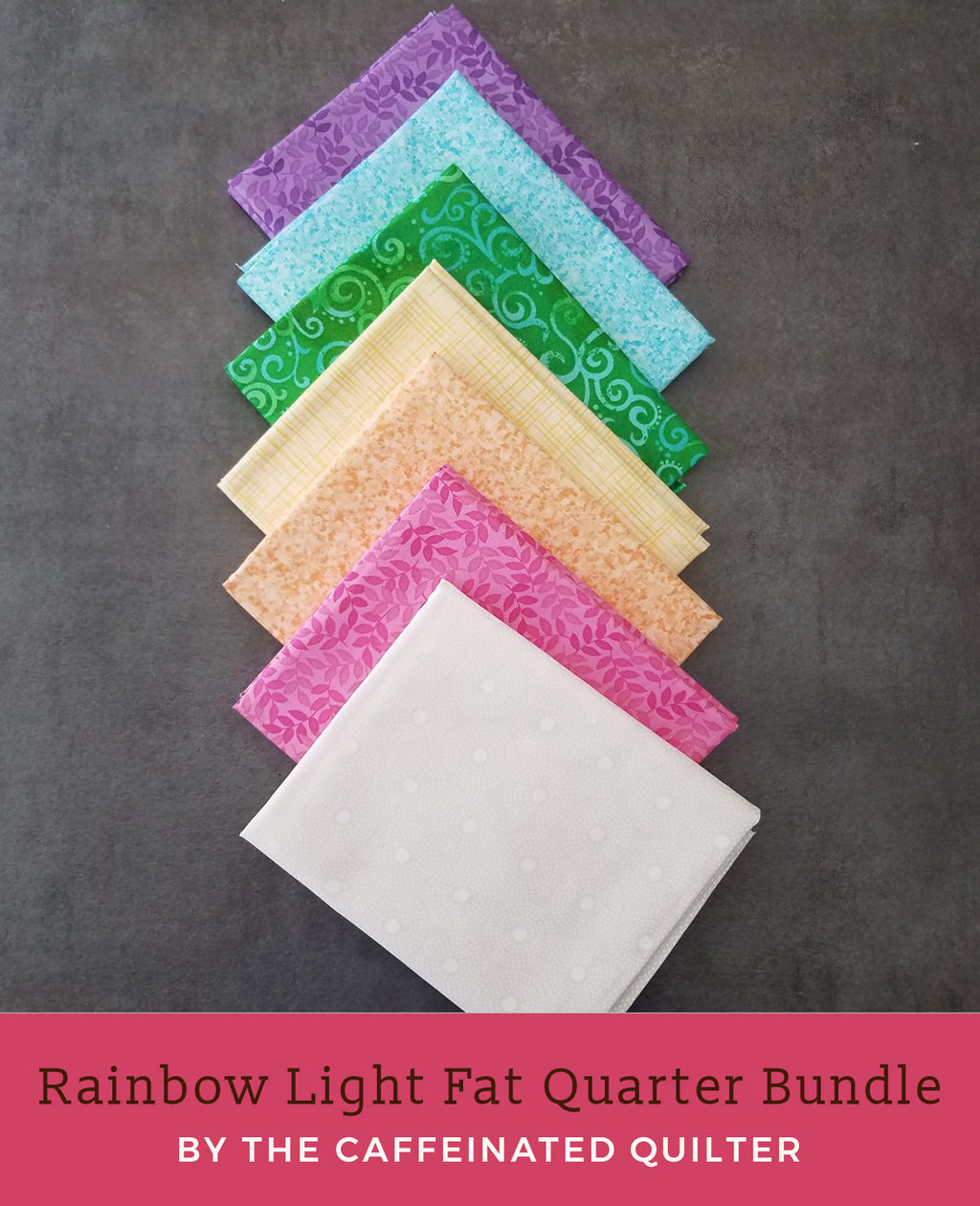 Light Rainbow Fat Quarter Bundle