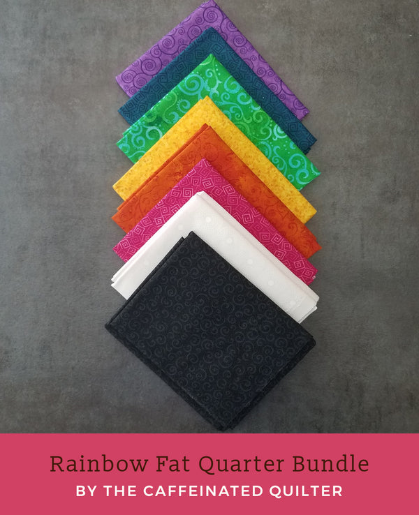 Rainbow Fat Quarter Bundle