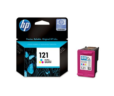 HP CC643HE Color 121 Ink Cartridge