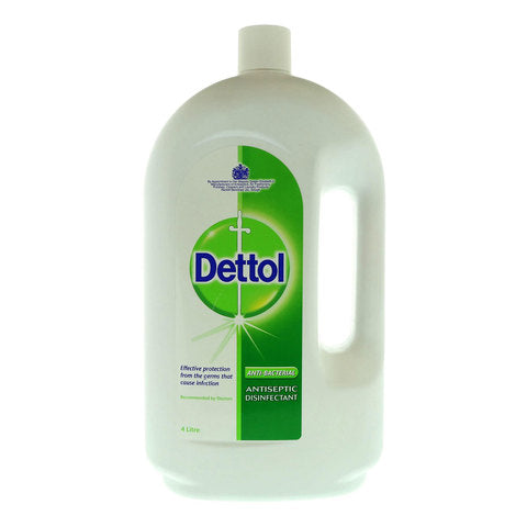 Dettol Anti-Bacterial Antiseptic Disinfectant 4 Liter