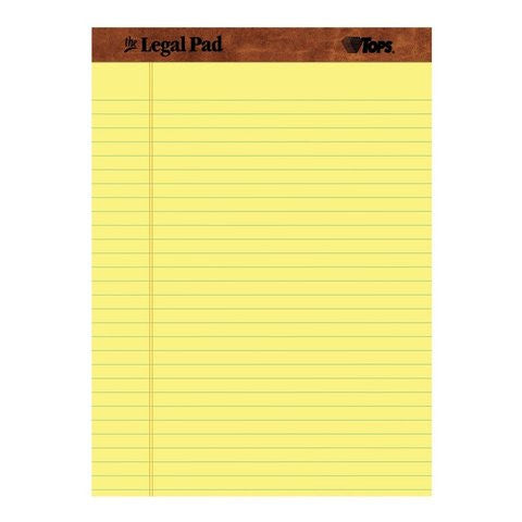 NotePad Yellow Multiple Sizes