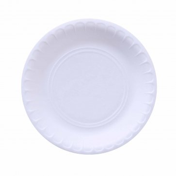 Round Foam Plate Medium (Pack of 500 )