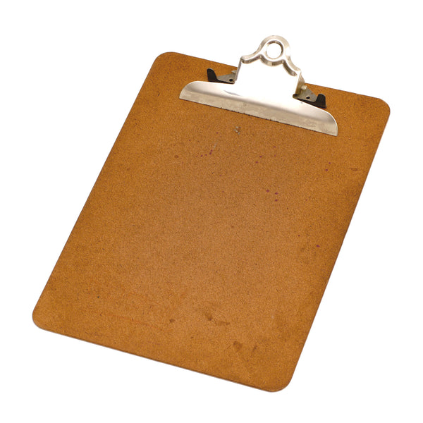 Clip Board Brown HardBoard