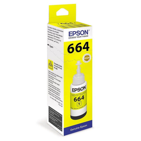 Epson Original T6644 Yellow Ink Cartridge