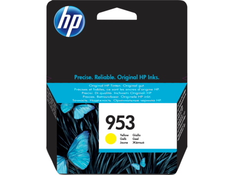 HP Ink 953 Yellow F6U14AE Cartridge