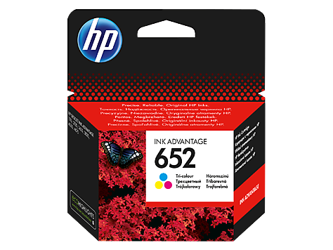 HP 652 Color F6V24AE Ink Cartridge