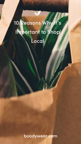 10 Reasons Why It's Important to Shop Local