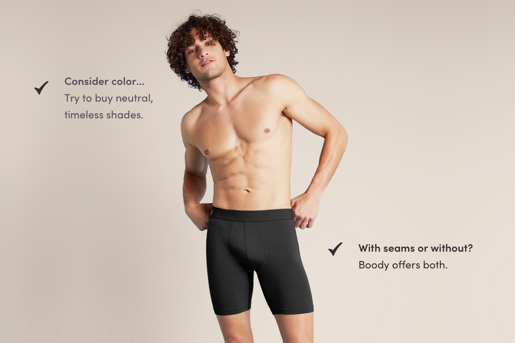 boody timeless men's underwear