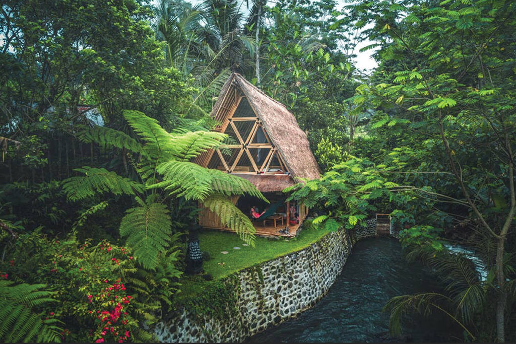 Eco Bamboo Home Hideout in Bali