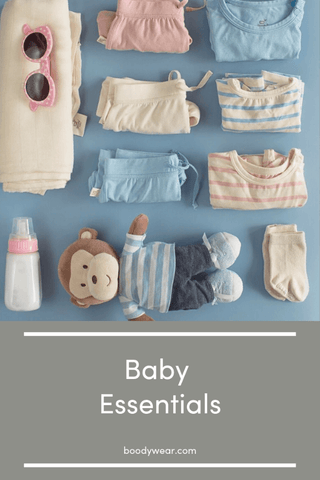 Bamboo baby and infant clothing essentials checklist