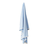 Boody Baby Bamboo Blue Stretch Jersey Blanket