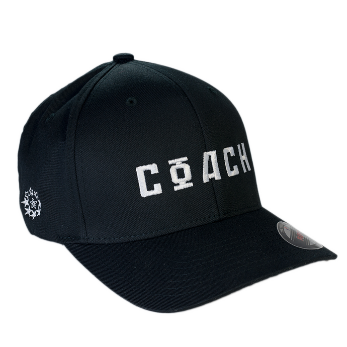 06738d457a9 COACH Soviet Vintage Style FlexFit Structured Twill Cap - White with Logo  on Choice of Color