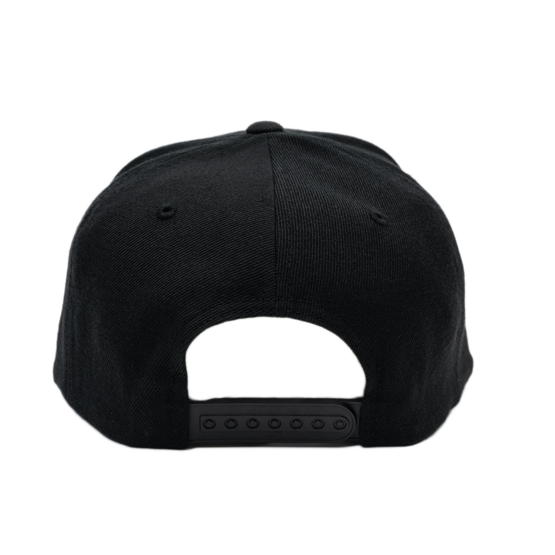 GOODHUSTLE Snapback Hat White/Black