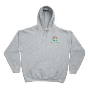 Rasta Fiya United We Ball Embroidered Unisex Pullover Hoodie