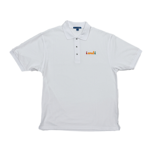 Rasta Fiya i and i Embroidered Men's Premium Polo Shirt