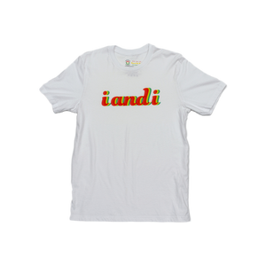 Rasta Fiya i and i Anaglyphic 3D Unisex Short Sleeve Jersey