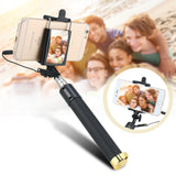 Wired Selfie Stick With Mirror