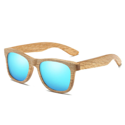 Uni-Sex Wooden Polarized Sun Glasses