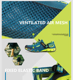 Outdoor Hiking/Running Breathable Mesh With Draining Sole
