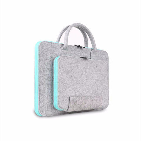 Felt Laptop Bag and Accessories Pouch