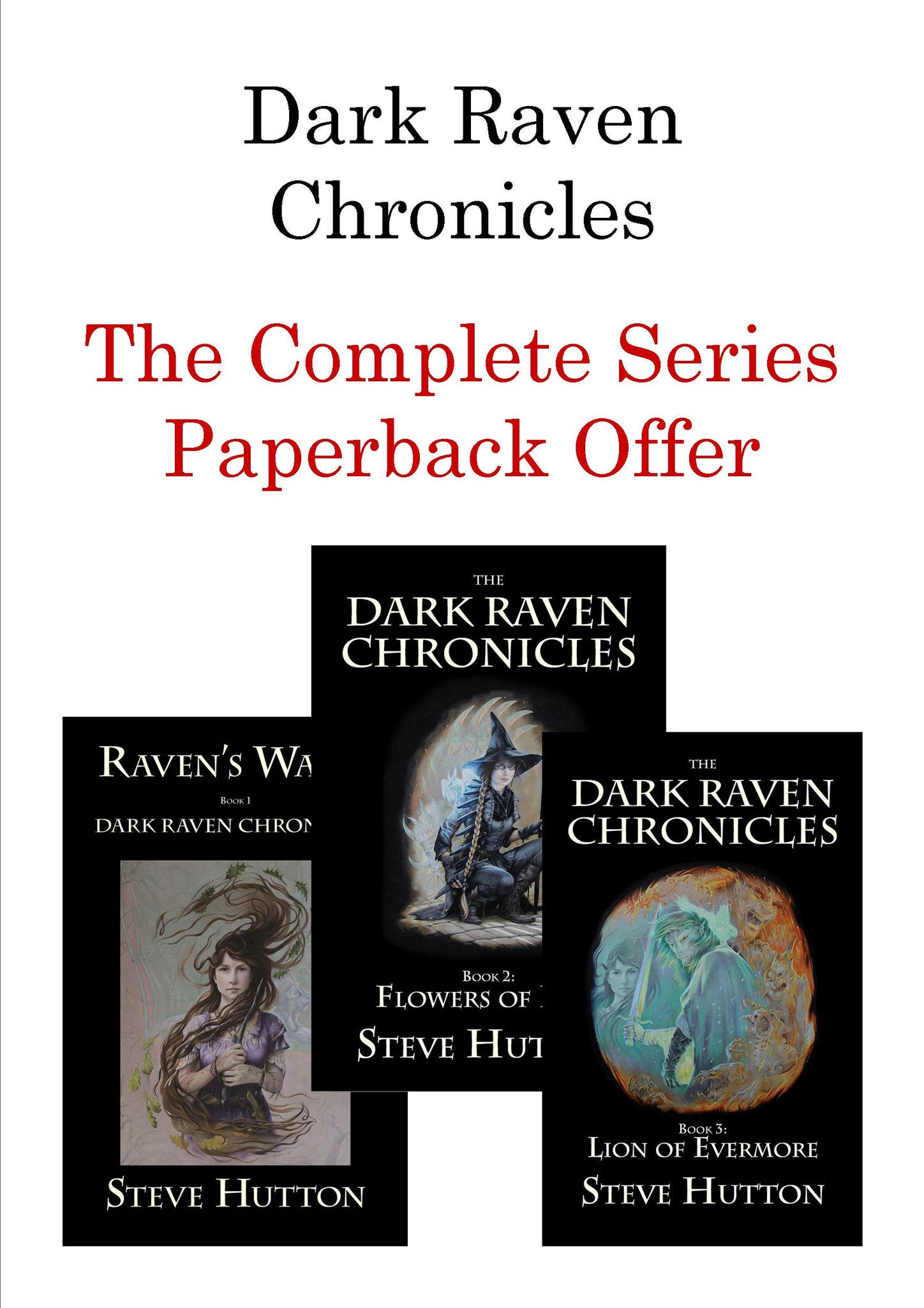 Dark Raven Chronicles - The Trilogy