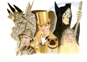 Discworld Group Painting Two - Waterstone's Magazine
