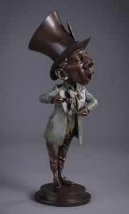 The Mad Hatter - Limited Edition Bronze Sculpture