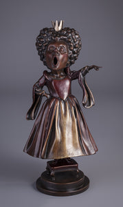 The Queen of Hearts - Limited Edition Bronze Sculpture