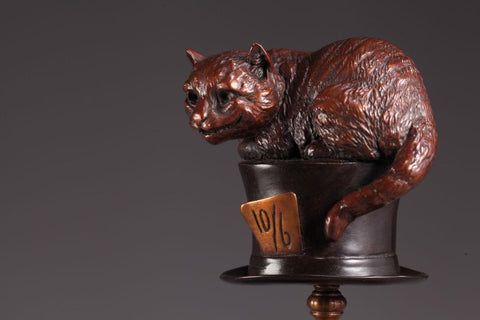 The Cheshire Cat - Limited Edition Bronze Sculpture