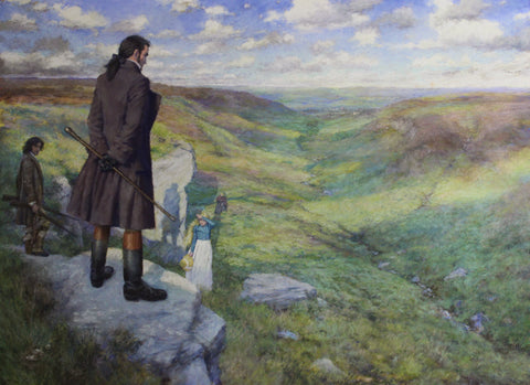 Wuthering Heights - The Heights were Heathcliff's land