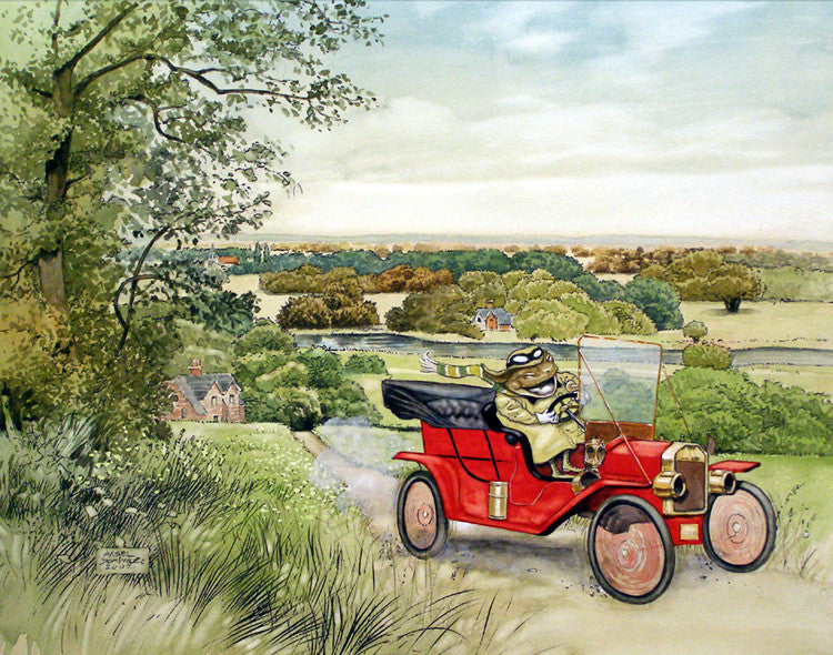 The Wind in the Willows - Limited Edition Print