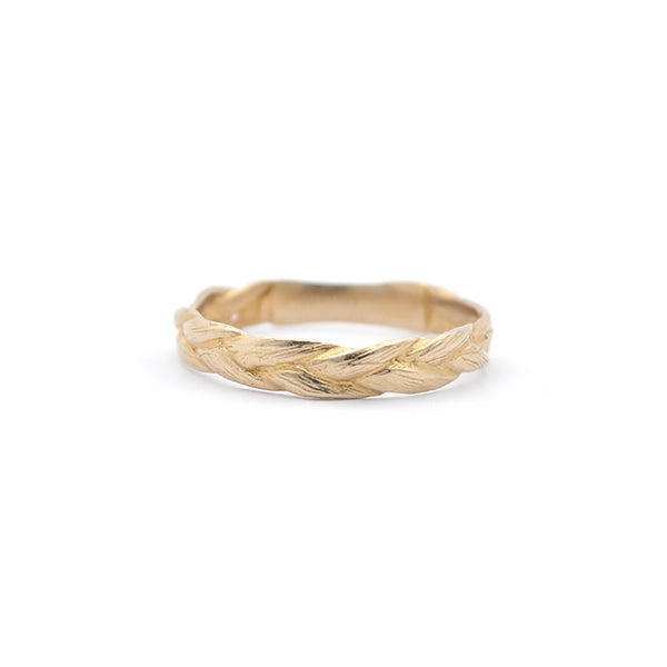 Braid Ring | Bronze