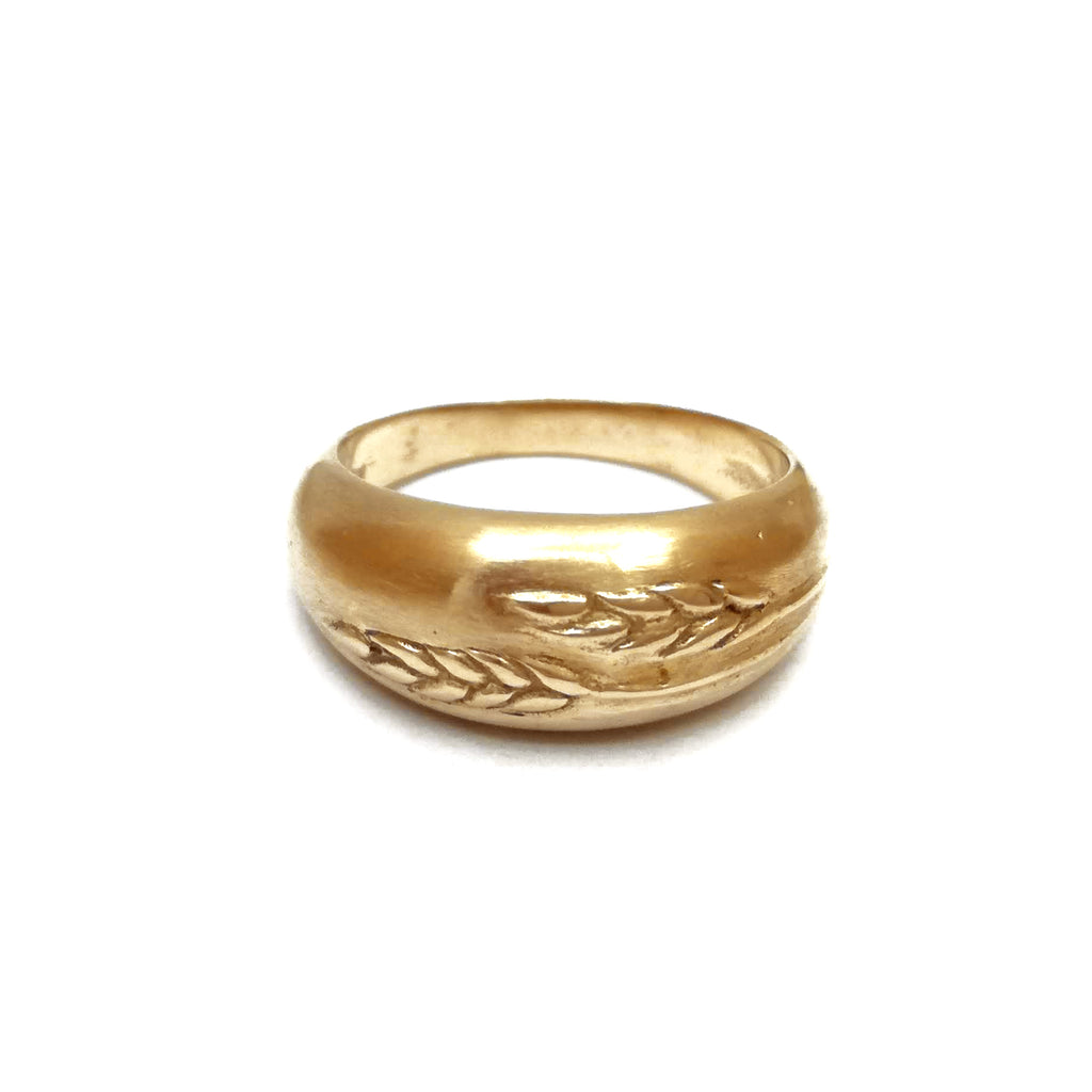 Wheat Ring | Bronze