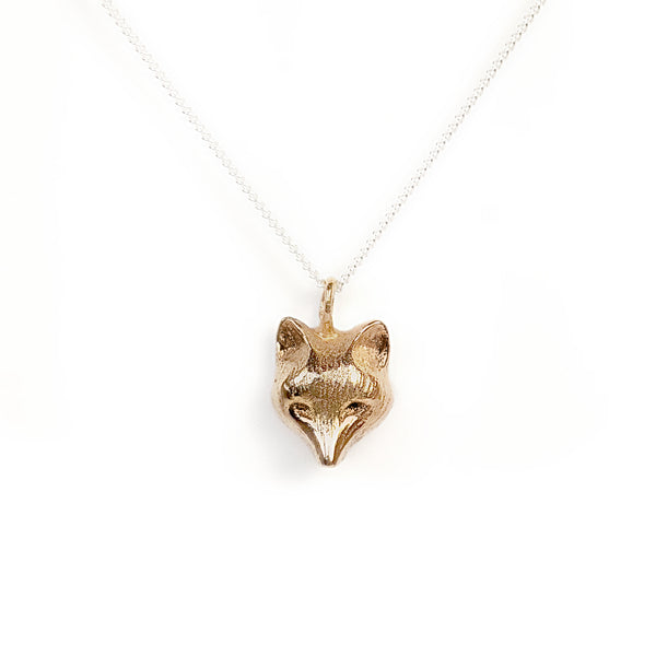 Fox Pendant | Bronze