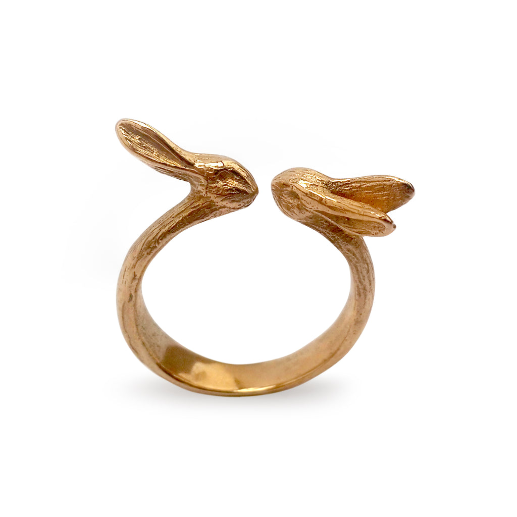 Hare Ring | Bronze