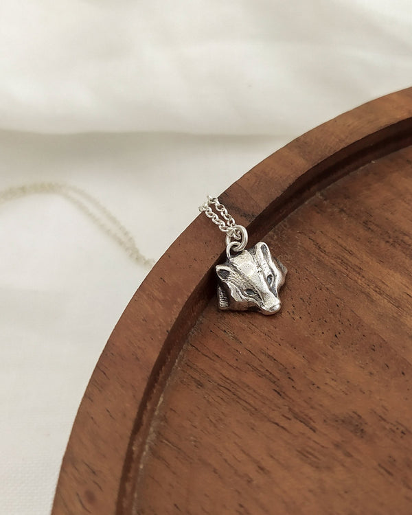 Badger pendant - ready to ship