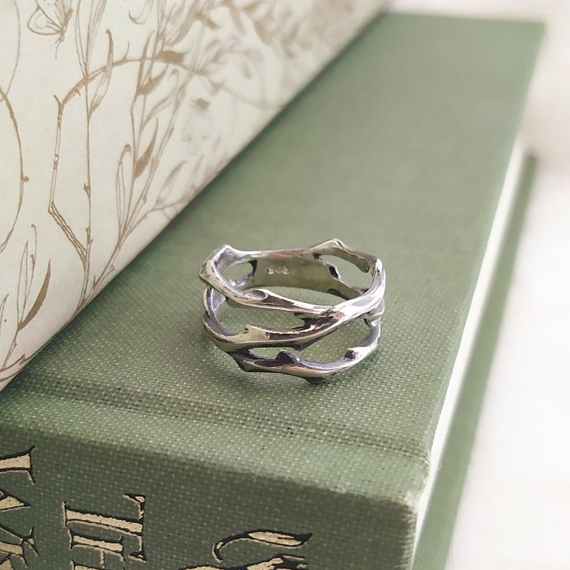 Wild Thorn ring (made to order)