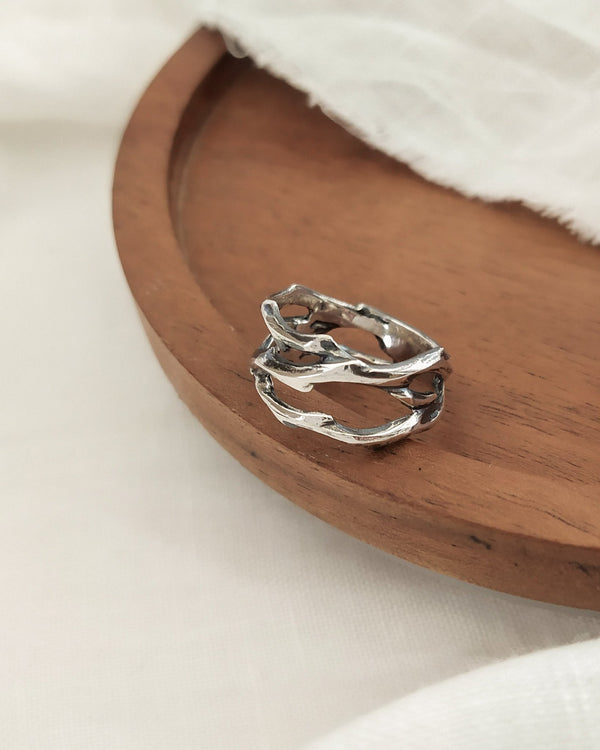 Wild Thorn ring - ready to ship