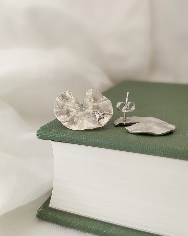 Lily Pad earrings - ready to ship