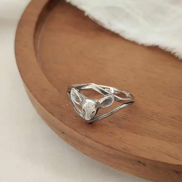 Deer ring - ready to ship